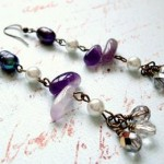 227 Lavender Earrings