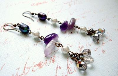 227 Lavender Earrings