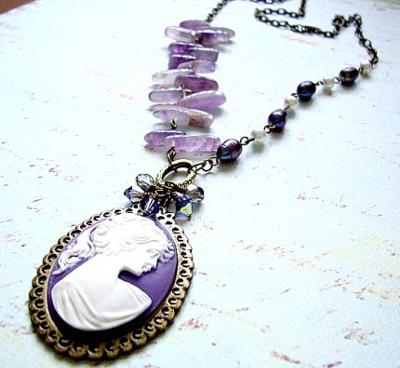 227 Lavender Necklace