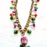 409 Flower Girl Necklace