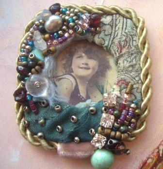 """A Brooch """"Found at My Grandmother's"""""""