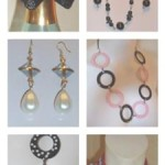 A Mixture of Earrings and Other Recycled Jewelry
