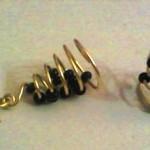 A Spiral Earring
