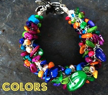 Angela Jones - colors bracelet