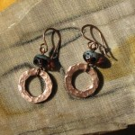 Copper Hardware Store Earrings
