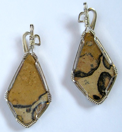 back view of the earrings that aren't - Rena Klingenberg