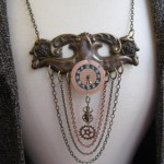 Steampunk Antique Hardware Neck Adornment