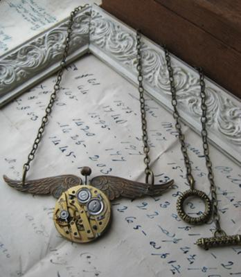 Steampunk Aviator Necklace