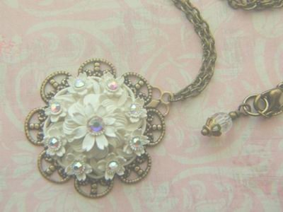 Wedding Cake Pendant