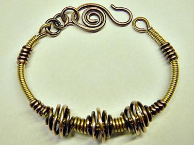 Wire Coil Bangle