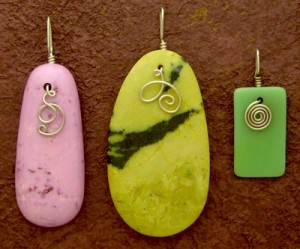 How to Make a Pendant – a fast, easy tutorial
