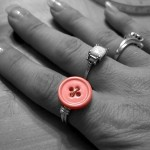 Wire Wrap Button Ring Tutorial
