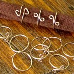 Wire wrap rings - I have sold a ton of these at art and craft shows!