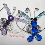 Wire Wrapped Butterflies