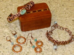 Wired Copper Jewelry