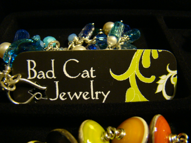 Bad Cat Jewelry Mini Cards