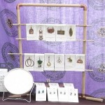 Jewelry Display Racks from Hardware Store Parts
