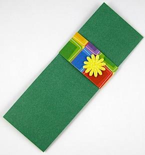 Bracelet Fastener Gift Envelope