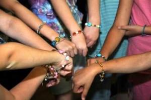 Girls' Birthday Bracelet Beading Party