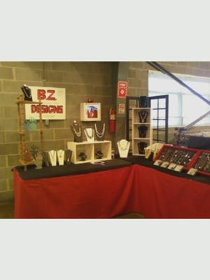 BZ Designs Jewelry Booth