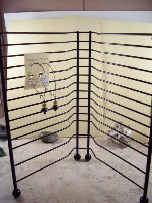 CD Rack Earring Display