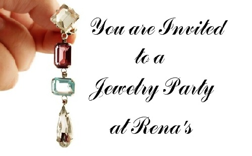 Great Jewelry Home Party Invitations
