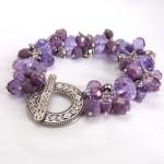 Lilac Bracelet for Mom