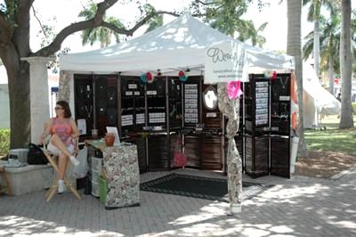 Wired Orchid Craft Show Booth – The Sequel