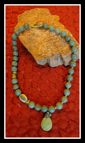 Magnesite Necklace
