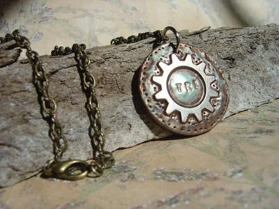 Rustic Wood Necklace Display
