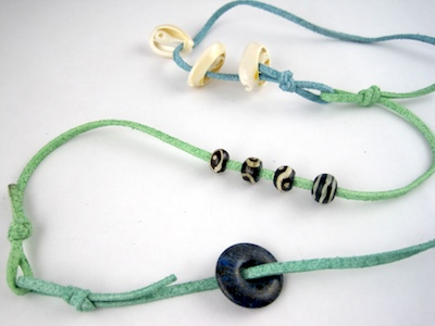 make a wrap bracelet or necklace by Rena Klingenberg