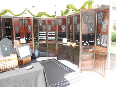 Wired Orchid Craft Show Booth/Shutters Only