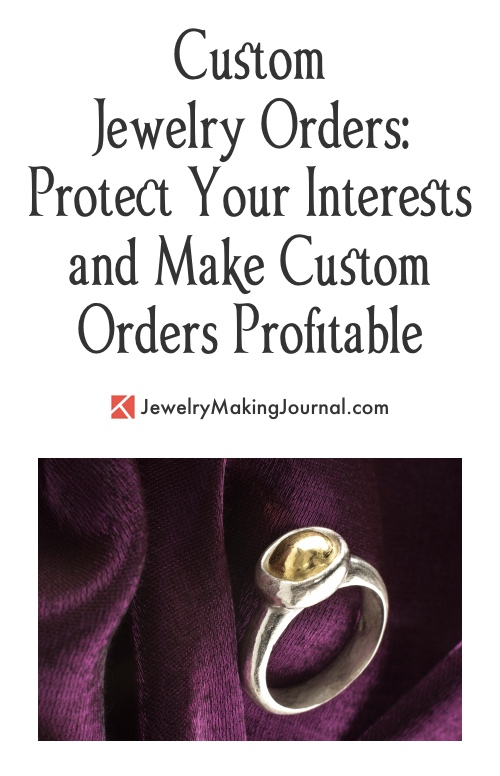 Custom Jewelry Orders  Jewelry Making Journal