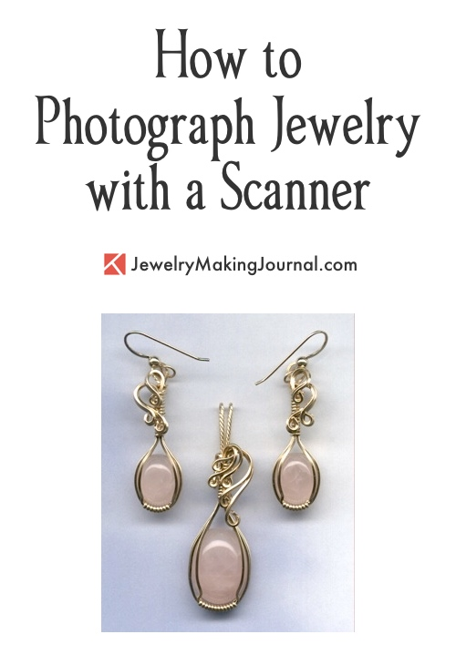 How to Photograph Jewelry with a Scanner, by Rena Klingenberg  - featured on Jewelry Making Journal
