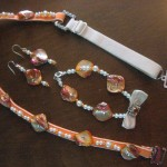 Bra Strap Jewellery Sets