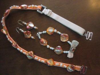 Bra Strap Jewellery Sets
