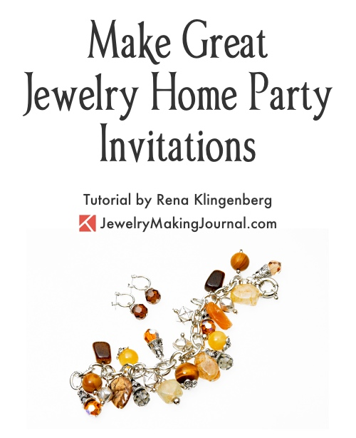 Great jewelry home party invitations jewelry making journal make great home jewelry party invitations by rena klingenberg featured on jewelry making journal stopboris Images