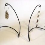 Simple and Elegant Earring Display Rack