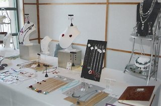 Tabletop Jewelry Display Idea Jewelry Making Journal