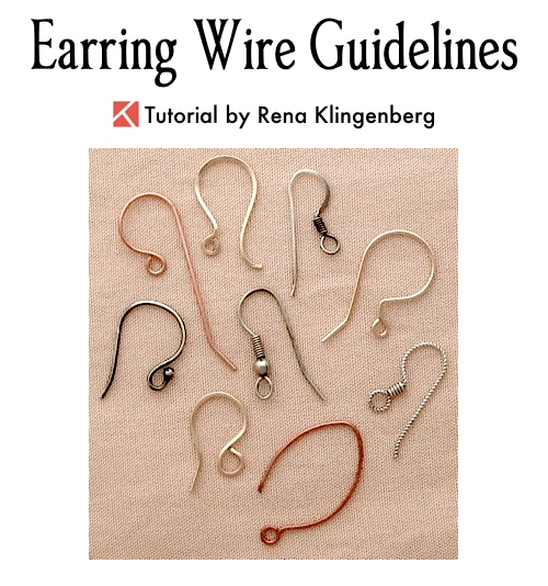Earring wire guidelines jewelry making journal earring wire guidelines by rena klingenberg an easy guide to recommended metals and wire keyboard keysfo