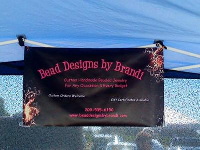 Inexpensive Booth Signage