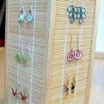Japanese Lamp as Jewelry Display