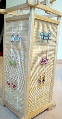 Japanese Lamp as Jewelry Display