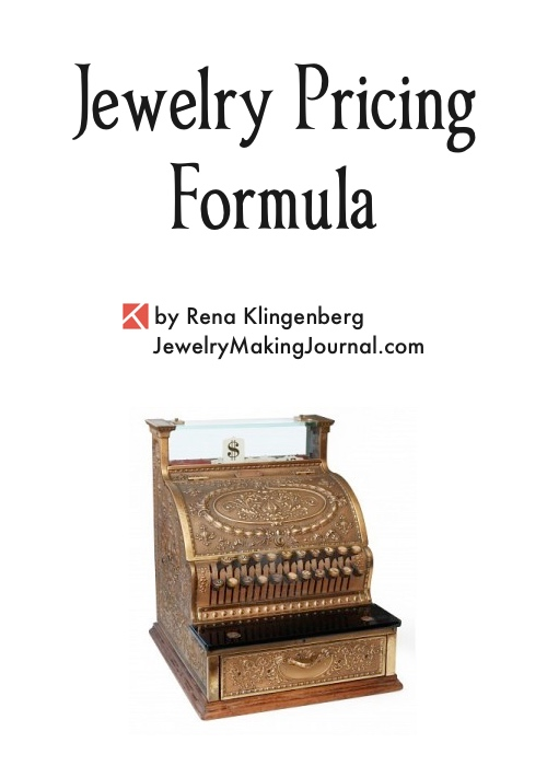 Jewelry Pricing Formula by Rena Klingenberg