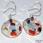 My Newest Goddess Earrings from Sterling and Gemstones