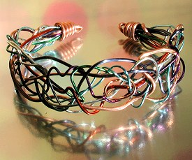 Tangle Bangle by Laura Christensen Wells
