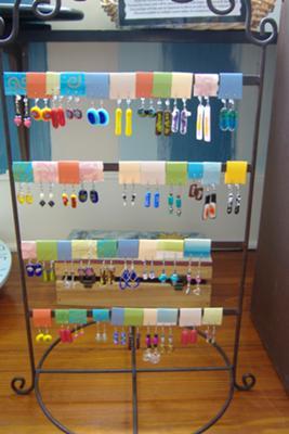Folded Cardstock Earring
