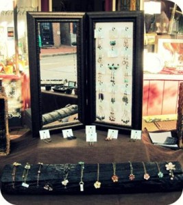 Natural Necklace Display
