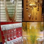 Necklace display fixtures from retail stores