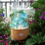 Ocean Themed Basket For Sea Glass Jewelry / Beach Stone Jewelry
